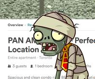 Beware the zombie short term rental listings!