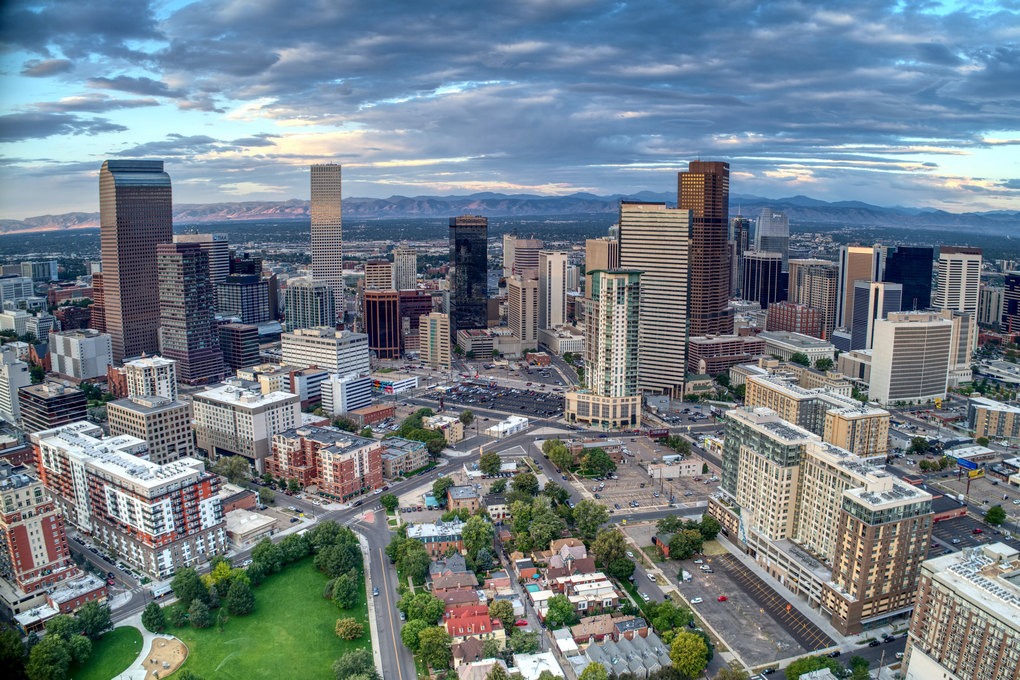 Denver Skyline Colorado