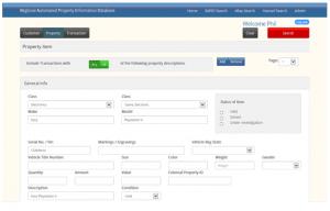 RAPID LP portal screenshot