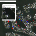 detect boats from satellite view using skycrawler